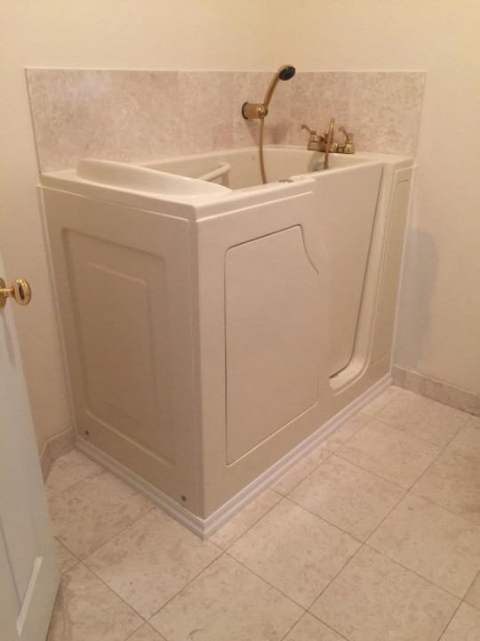 Walk in Bathtub Install by Independent Home Products, LLC